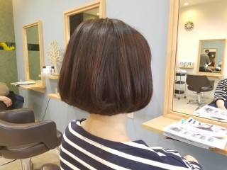 【MICHI 富田店 谷川奈津希】マルマルボブ