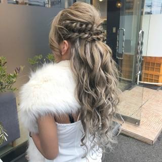 【MICHI 富田店 古作 蓮】成人式hair change