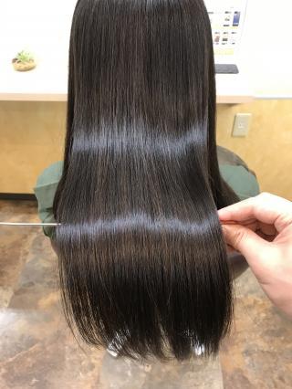 大人気髪質改善メニュー!