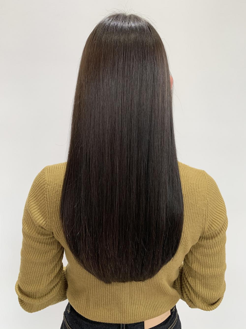 オリーブベージュカラー&髪質改善トリートメント