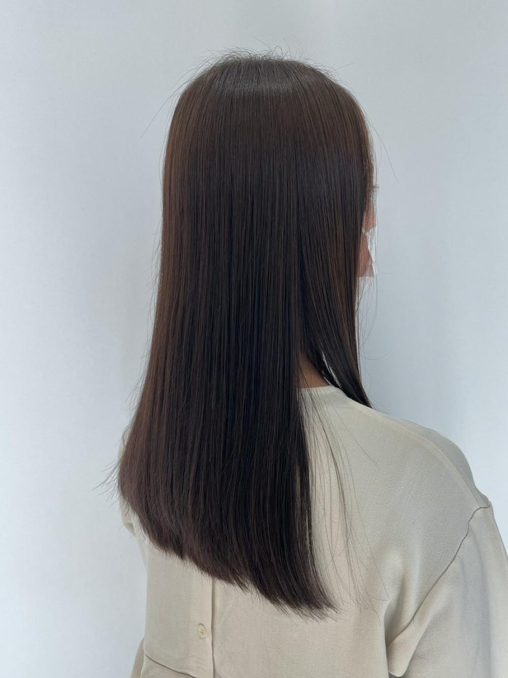 髪質改善ストレートoh