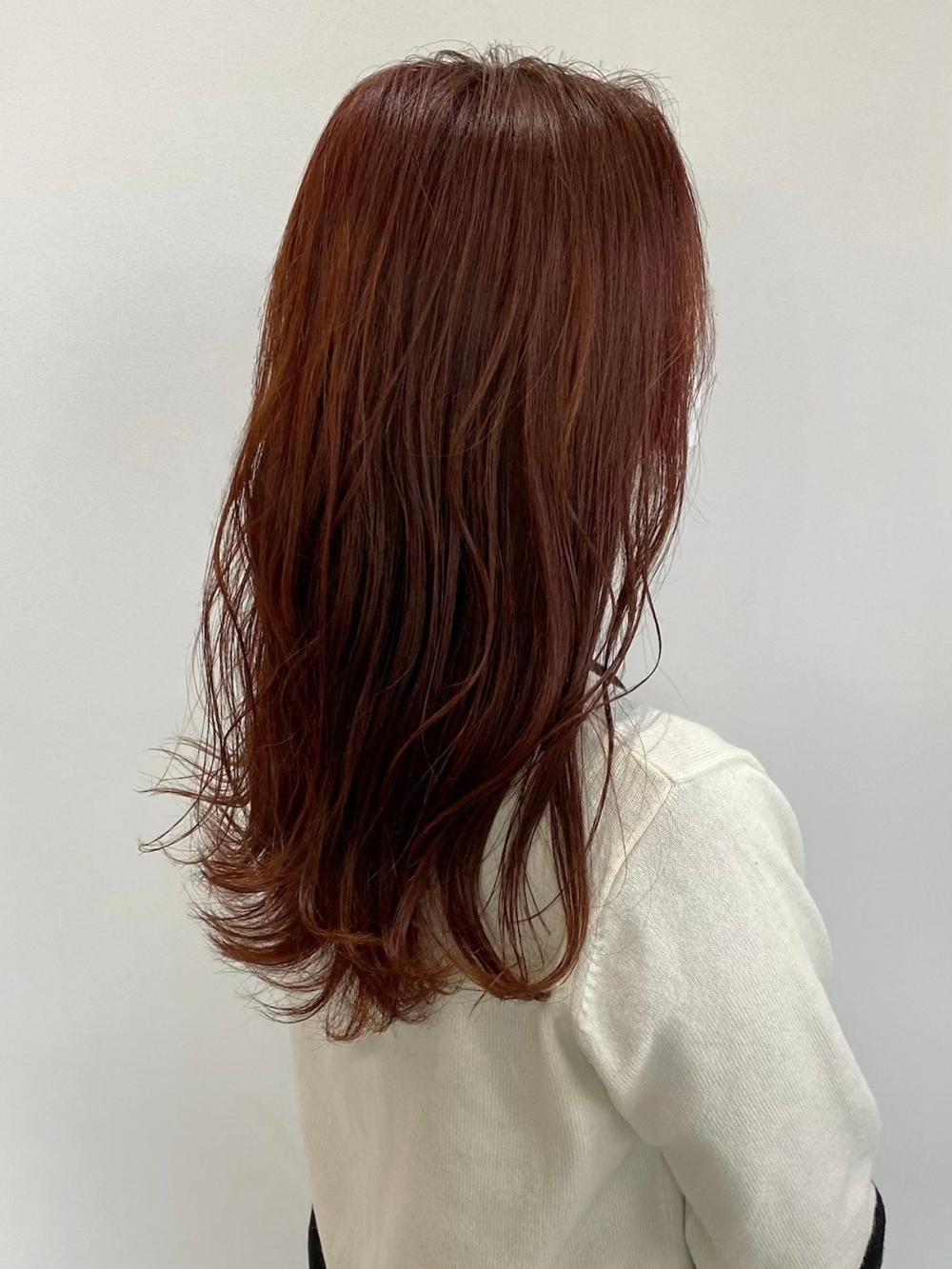 【feliceMICHI間嶋健司】チェリーブラウンカラー