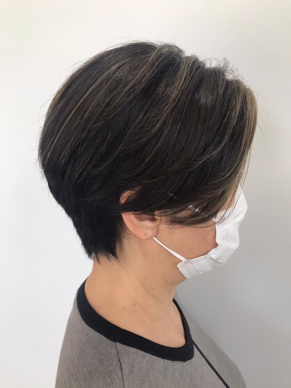 【feliceMICHI山口智也】白髪染め/ハイライト