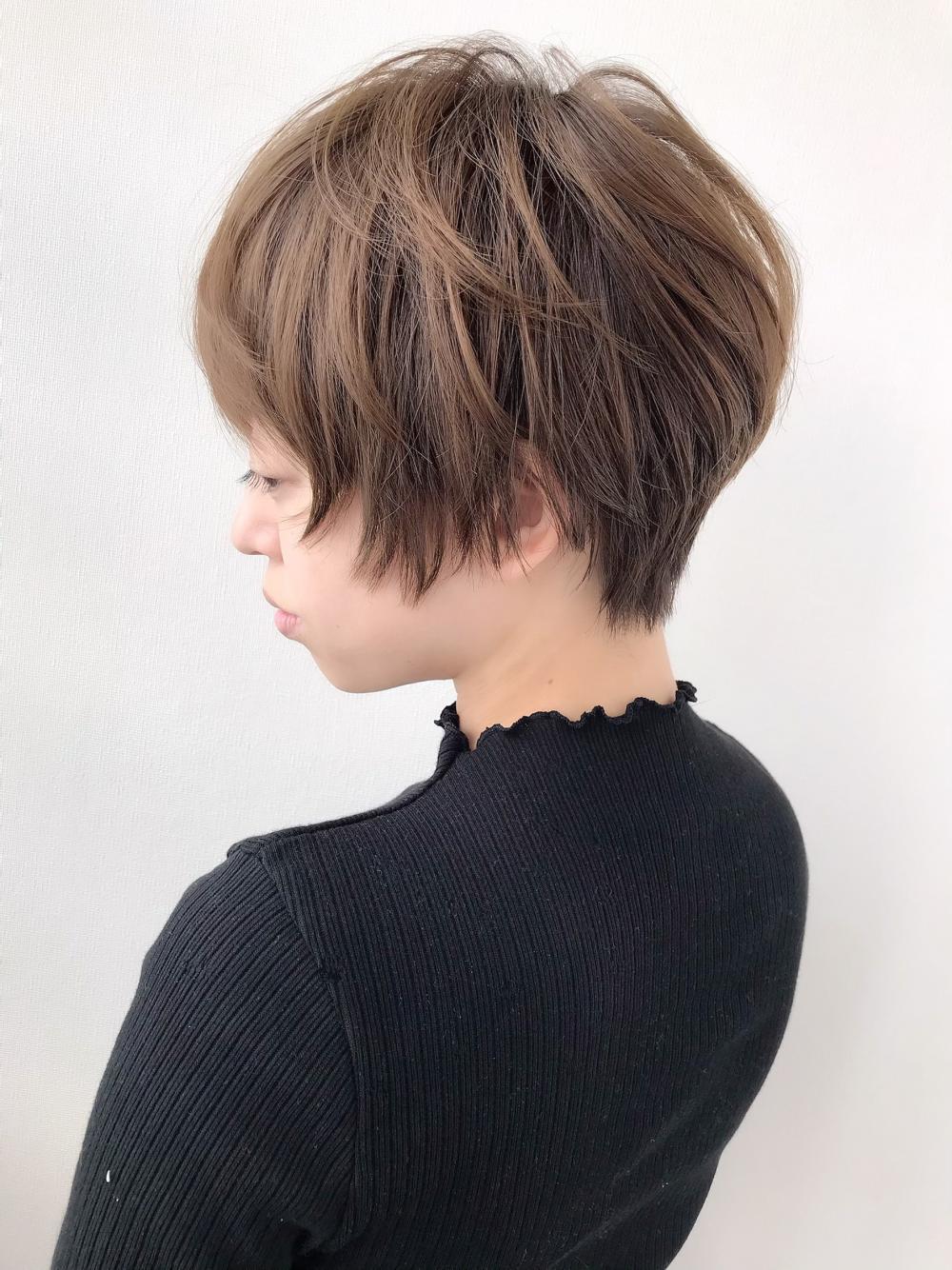 【felice MICHI島田和也】大人可愛い小顔ショート