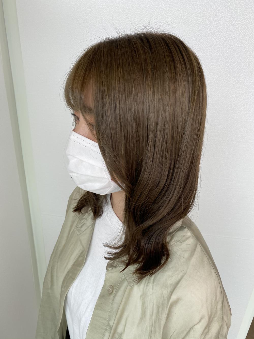 オリーブブラウン【中西加奈恵】