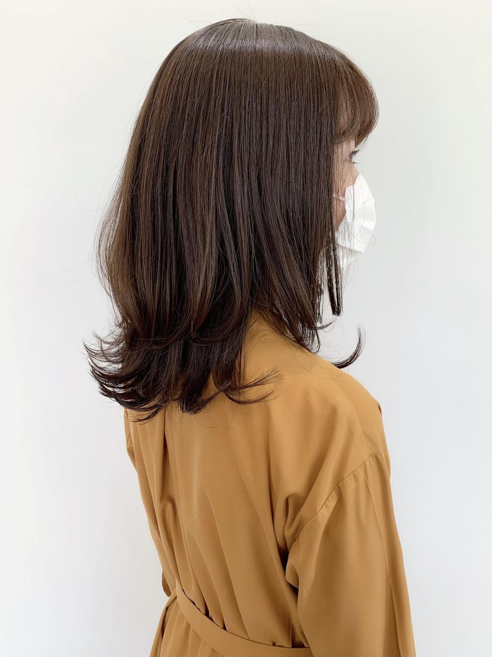 【feliceMICHI佐藤夏美】ふんわり外ハネレイヤー