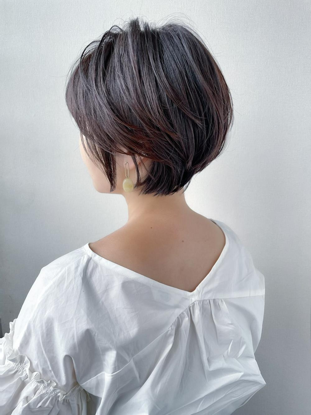 【flap MICHI島田和也】横顔美人ショートボブ