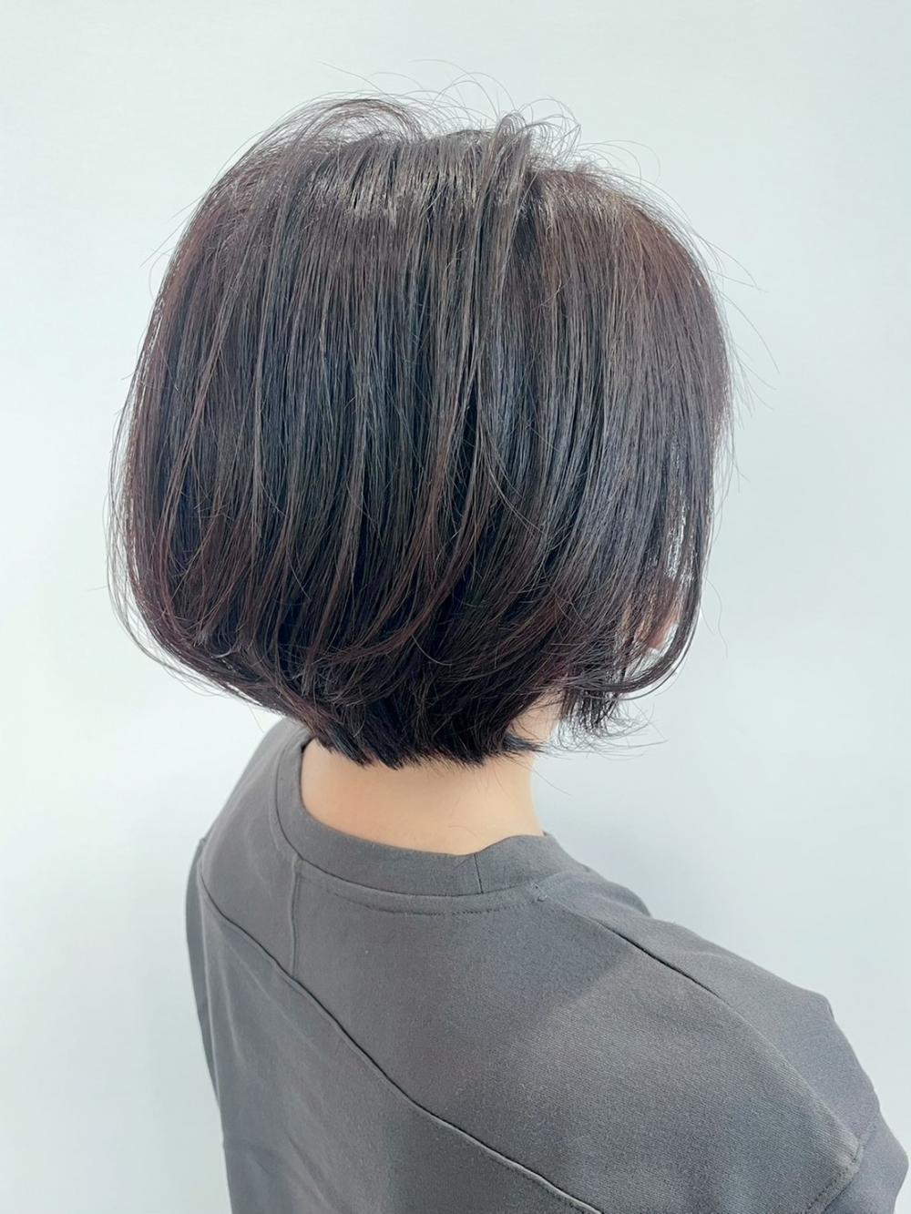 【feliceMICHI浅野祐輔】ショートグレイカラー