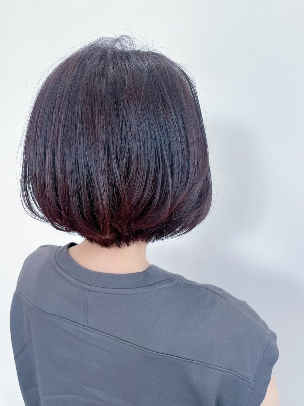 【feliceMICHI浅野祐輔】ナチュラルショートボブ