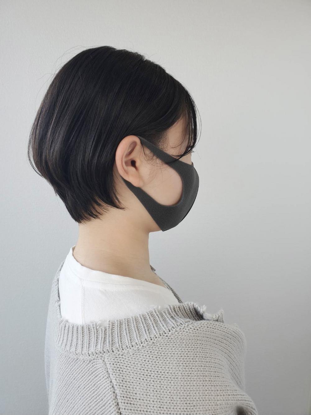 【MICHI 富田店 谷川奈津希】耳かけ丸みショート