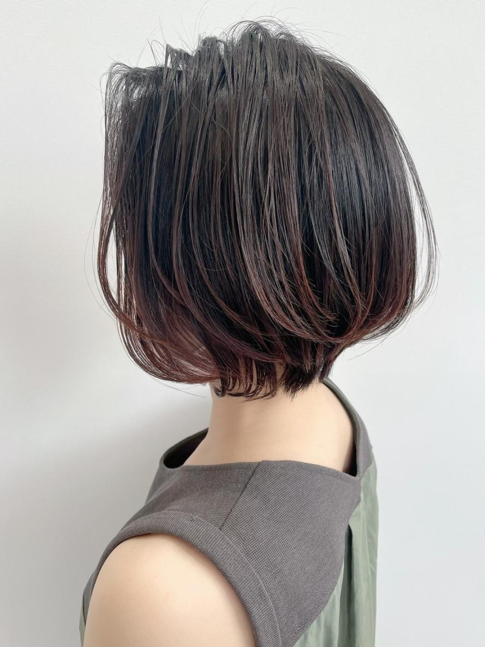 【felice MICHI浅野祐輔】大人可愛いショートボブ