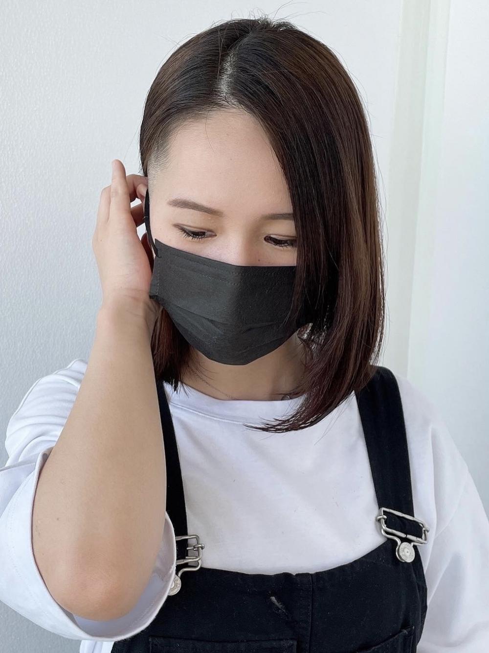 【MICHI 富田店 古作蓮】刈り上げボブ