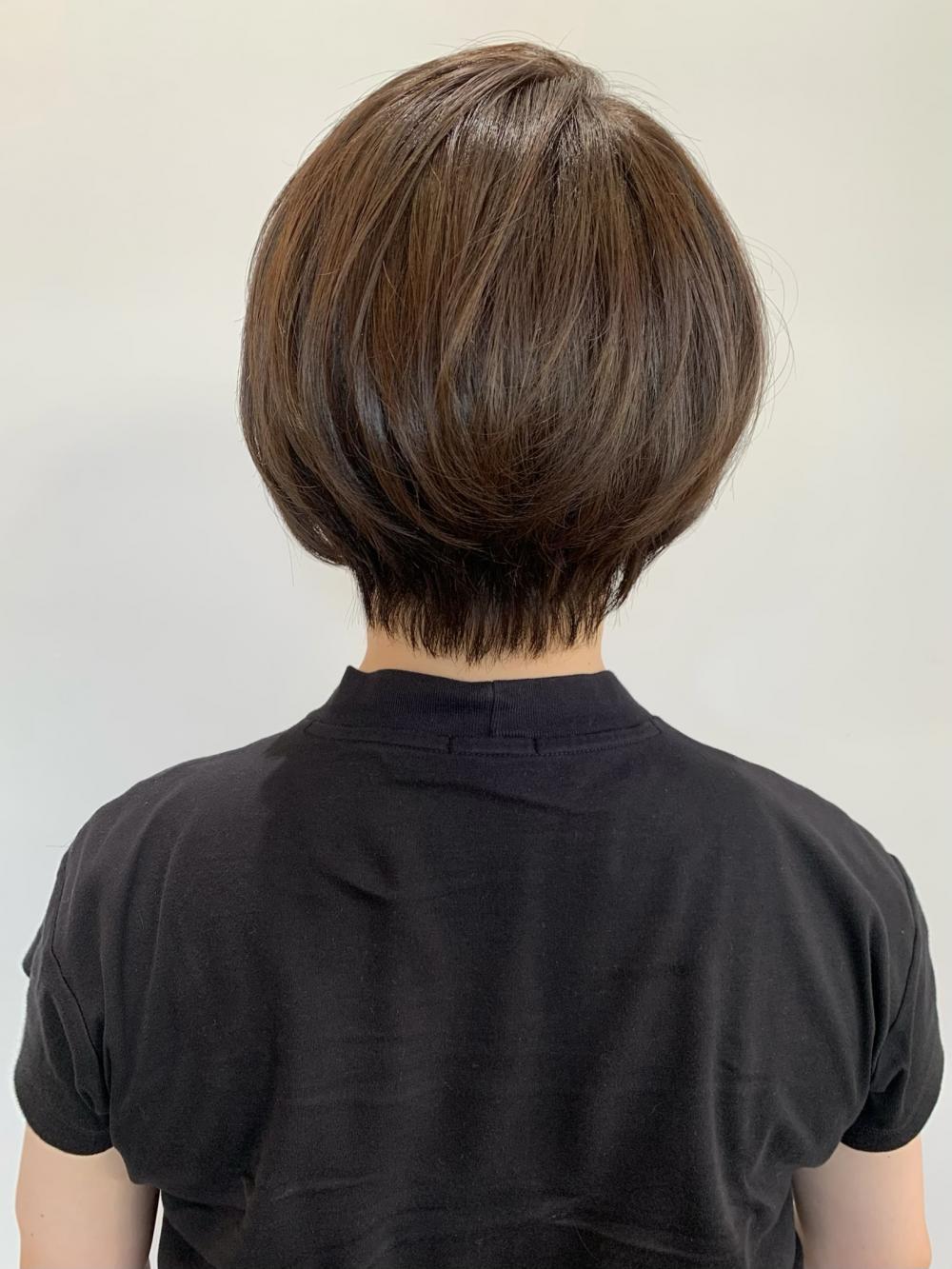 【佐藤夏美】丸みショート